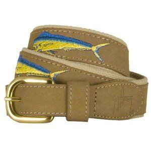 Guy Harvey Offshore Slam Belt Bull Dolphin Size 46